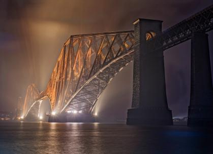Forth Bridge in the Mist
