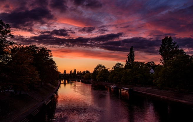 Ouse Sunset